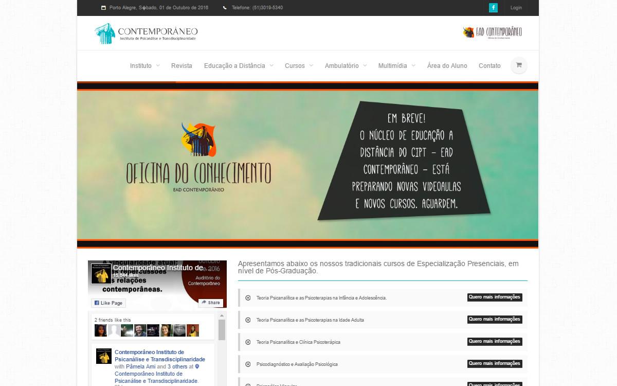 Criação de Sites de Ensino a Distância